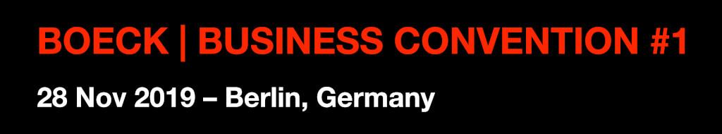 BOECK BUSINESS CONVENTION Vorlage Test