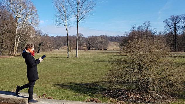 Digitales Parkfieber: Baumkataster des Branitzer Parks umfasst mehr als 20.000 Bäume