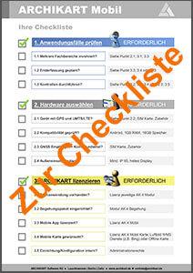 Checkliste Mobil  CTA