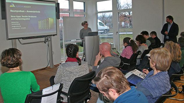 Baumpodium erfolgreich gestartet: Fachliche Kompetenz & Erfahrungsaustausch