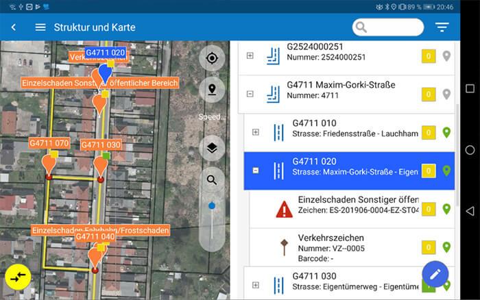 Mobile Strassenkontrollen