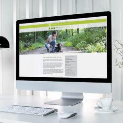 Webseite Tierheilpraktikerin