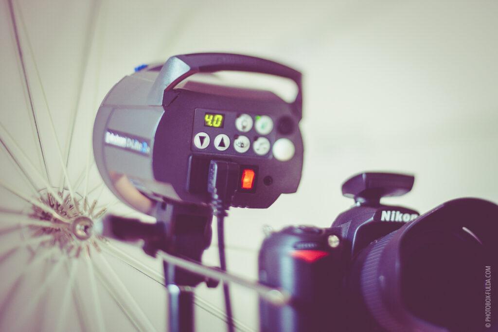 Professionelles Fotoequipment