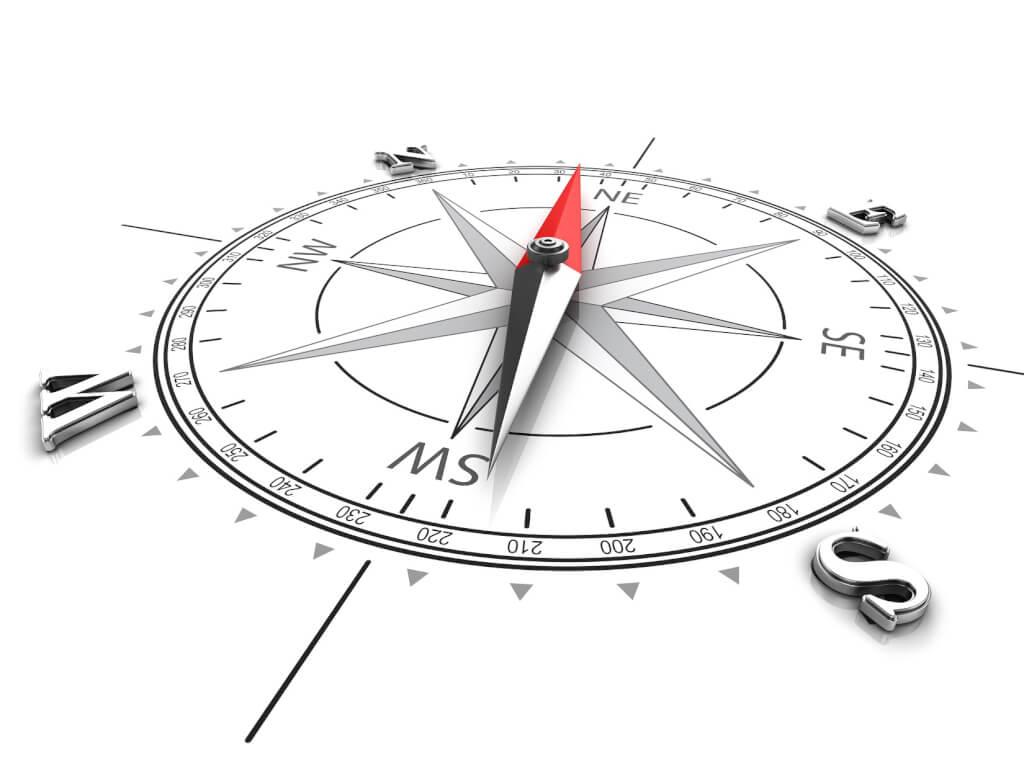 Kompass klein