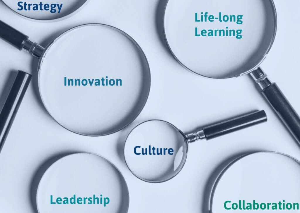Feedback Loops and Data Analytics foster organizational learning and innovation