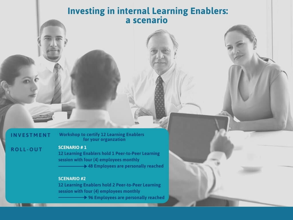 Investing in internal Learning Enablers a scenario 1