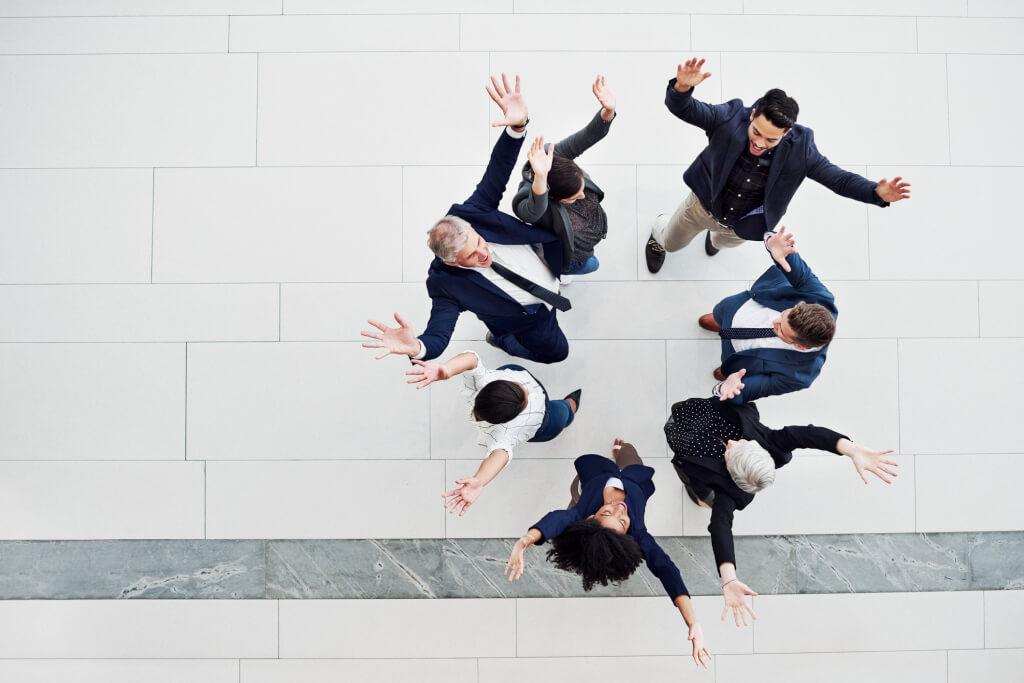 iStock 1164308768 Group celebration with energy