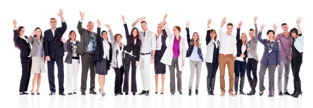 iStock 476572118 happy business people in a row cropped
