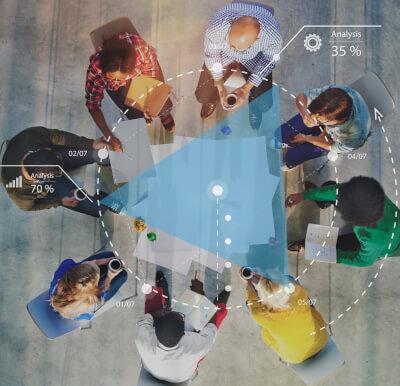 iStock 1057830314 team brainstorming cropped