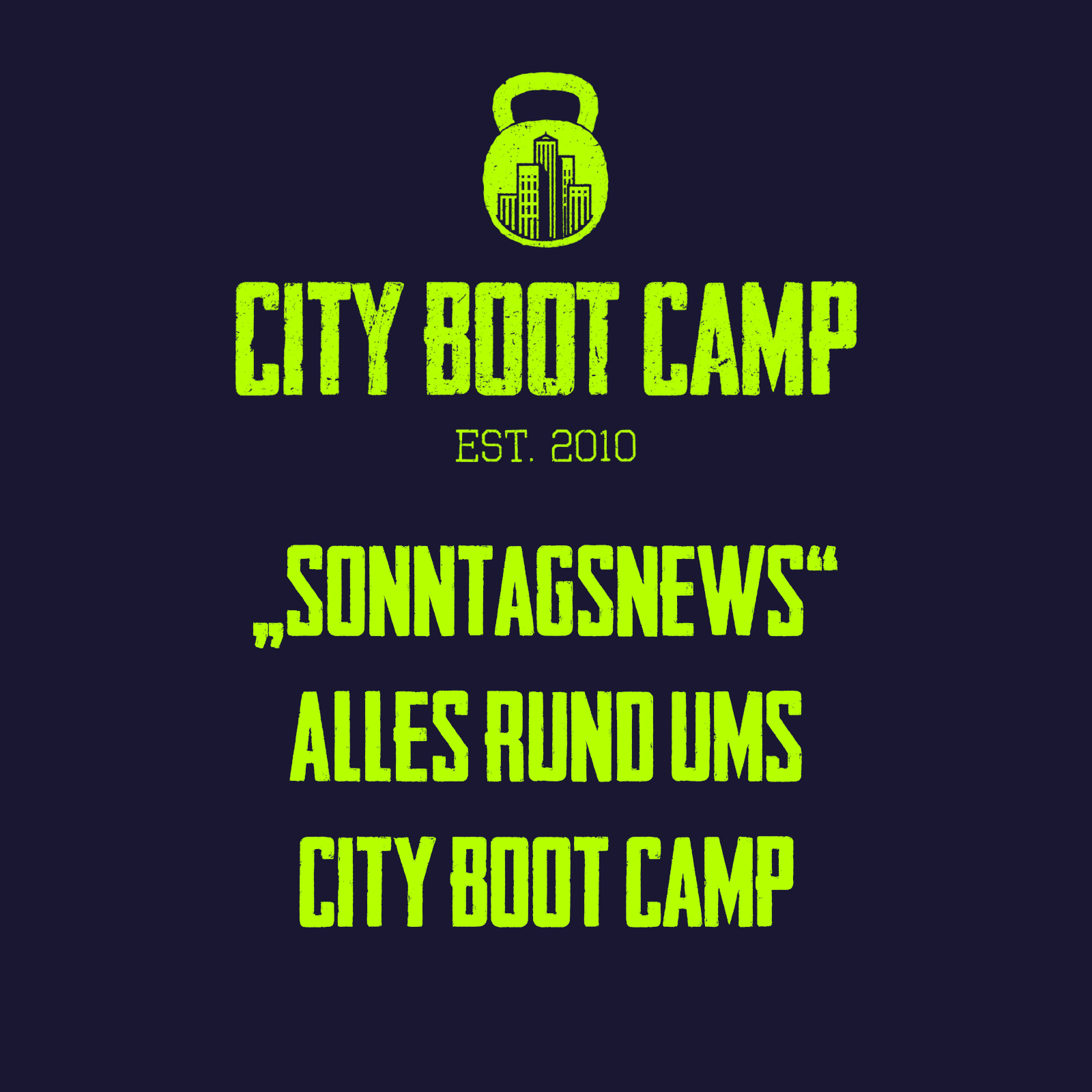 Boot Camp News 18.10.2020