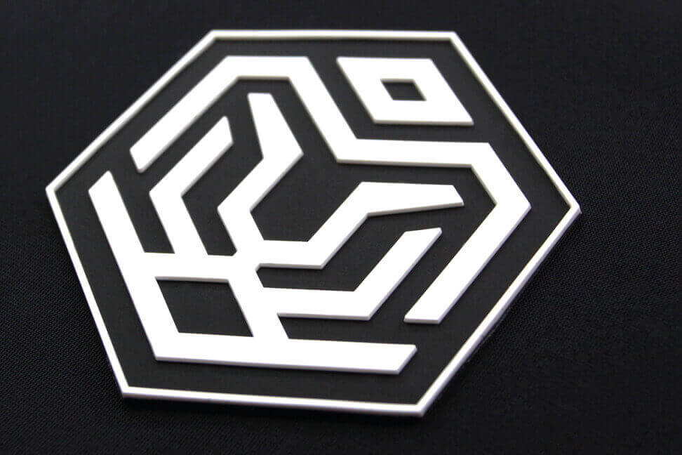 3D SILICONE | MOULDED HEAT TRANSFER LOGO