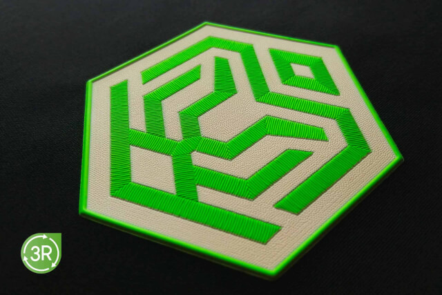 3R   3D SILICONE X WOVEN SUSTAINABLE HEAT TRANSFER