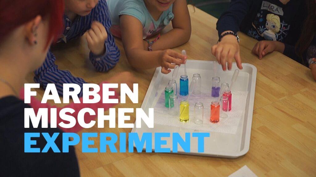 Farbkreis aus Druckertinten