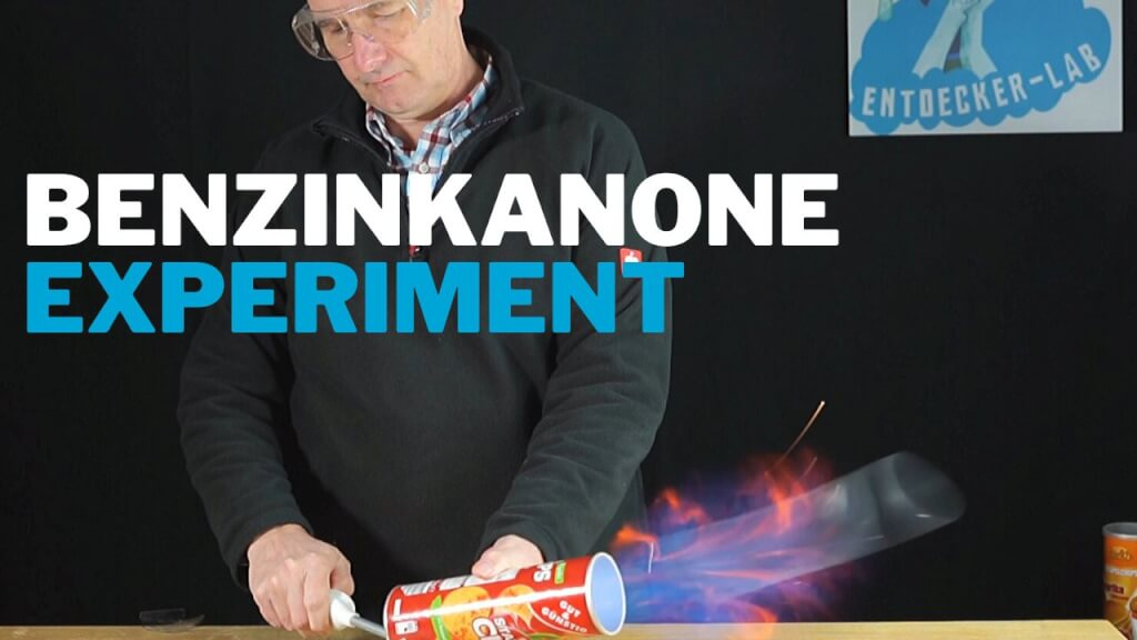 Benzinexplosion in Chipspackung – Chemie Experiment