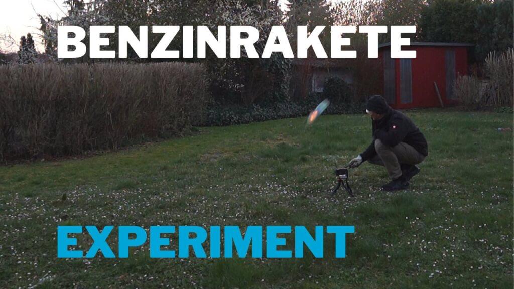 Benzin-Rakete – Experiment zum Nachmachen