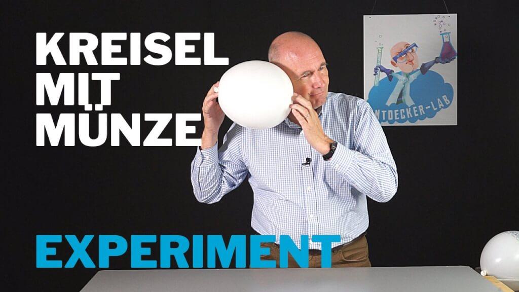 Luftballon-Kreisel - Zentrifugalkraft Experiment
