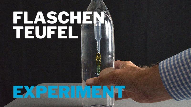 Flaschenteufel - Dichte-Experiment