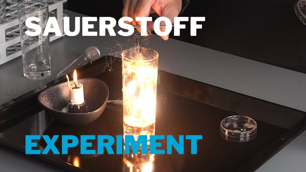 Experimente mit Sauerstoff