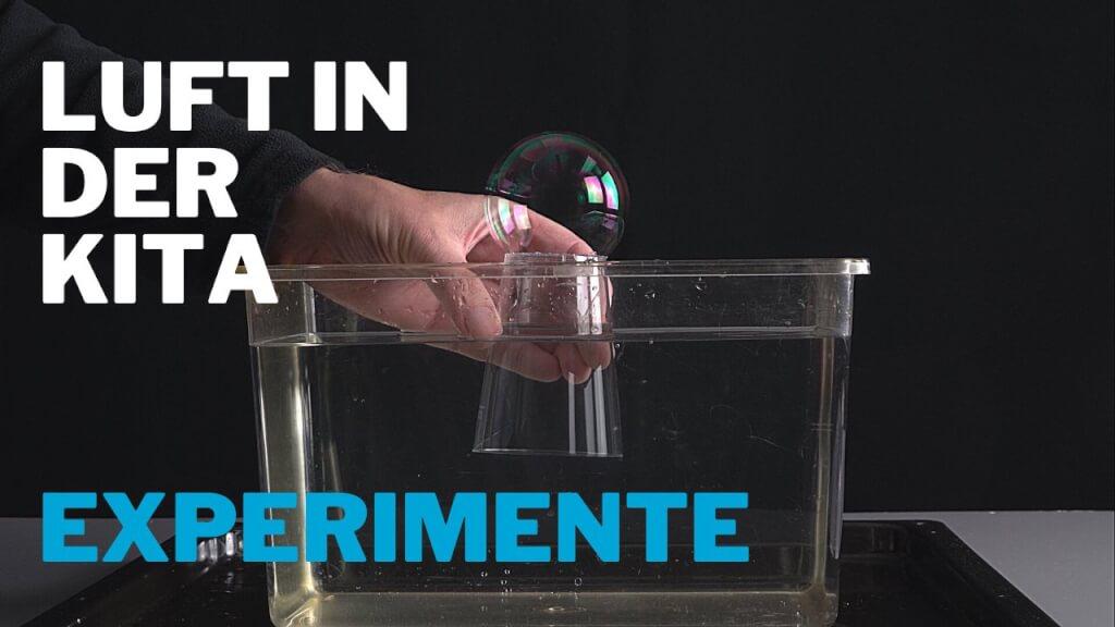 Luft-Experimente in der KiTa