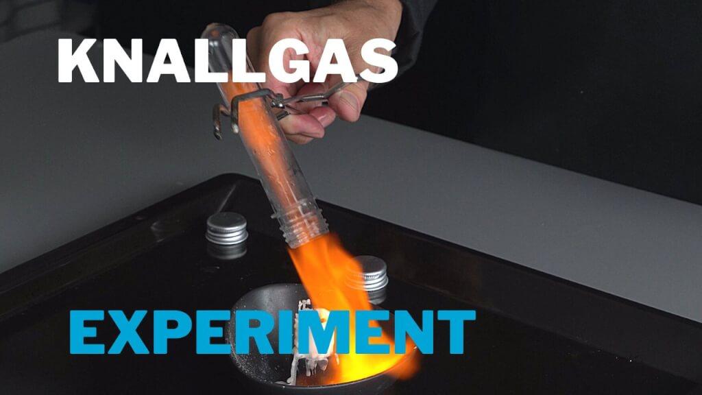 Wasserstoff mit Haushaltschemikalien selber herstellen