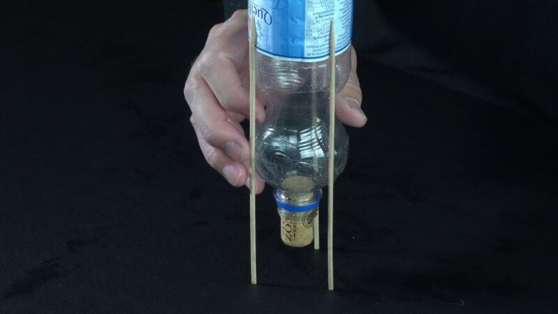 Passender Korken für die Flasche