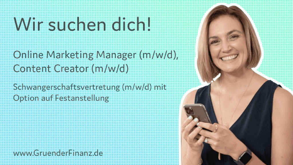 Titelbild Stellenangebot Online Marketing Manager Content Creator