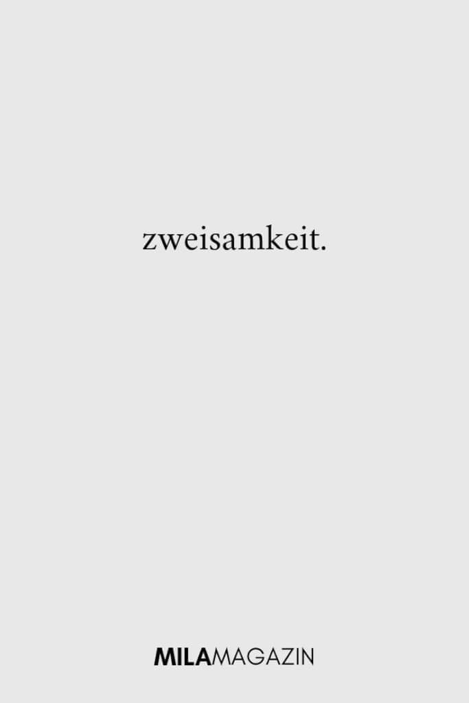 zweisamkeit. | ILAMAGAZIN