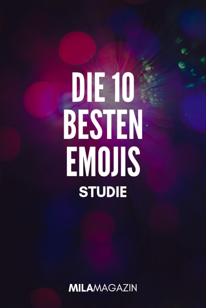 Studie zeigt: Das sind die beliebtesten Emojis | MILAMAGAZIN