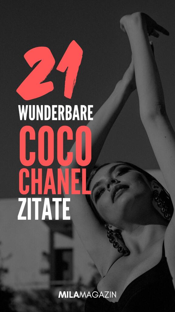 21 wunderbare Coco Chanel Zitate | MILAMAGAZIN
