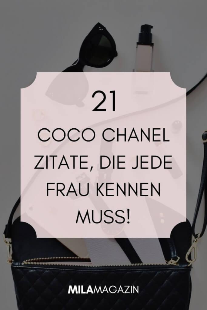 21 Coco Chanel Zitate, die jede Frau kennen muss! | MILAMAGAZIN