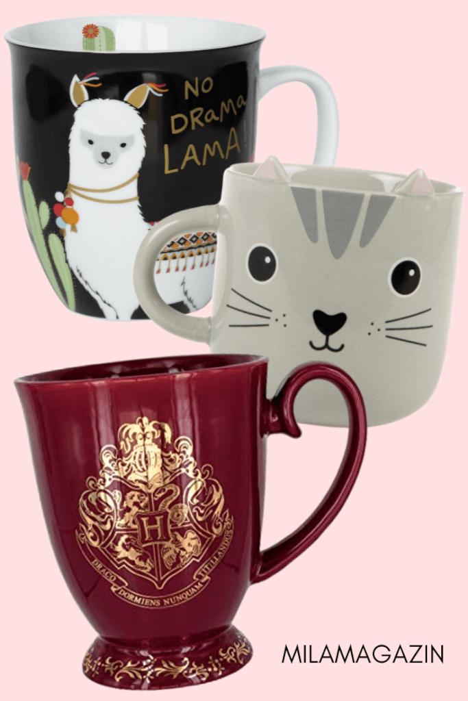 Schöne und lustige Tassen machen den Kaffee besonders! | MILAMAGAZIN