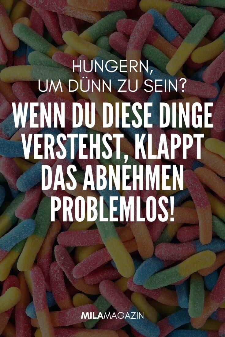 Hungern, um dünn zu sein? Nein, so klappt das Abnehmen problemlos! | MILAMAGAZIN