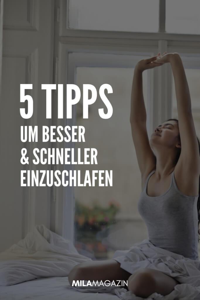 5 Tipps, um besser und schneller einzuschlafen | MILAMAGAZIN