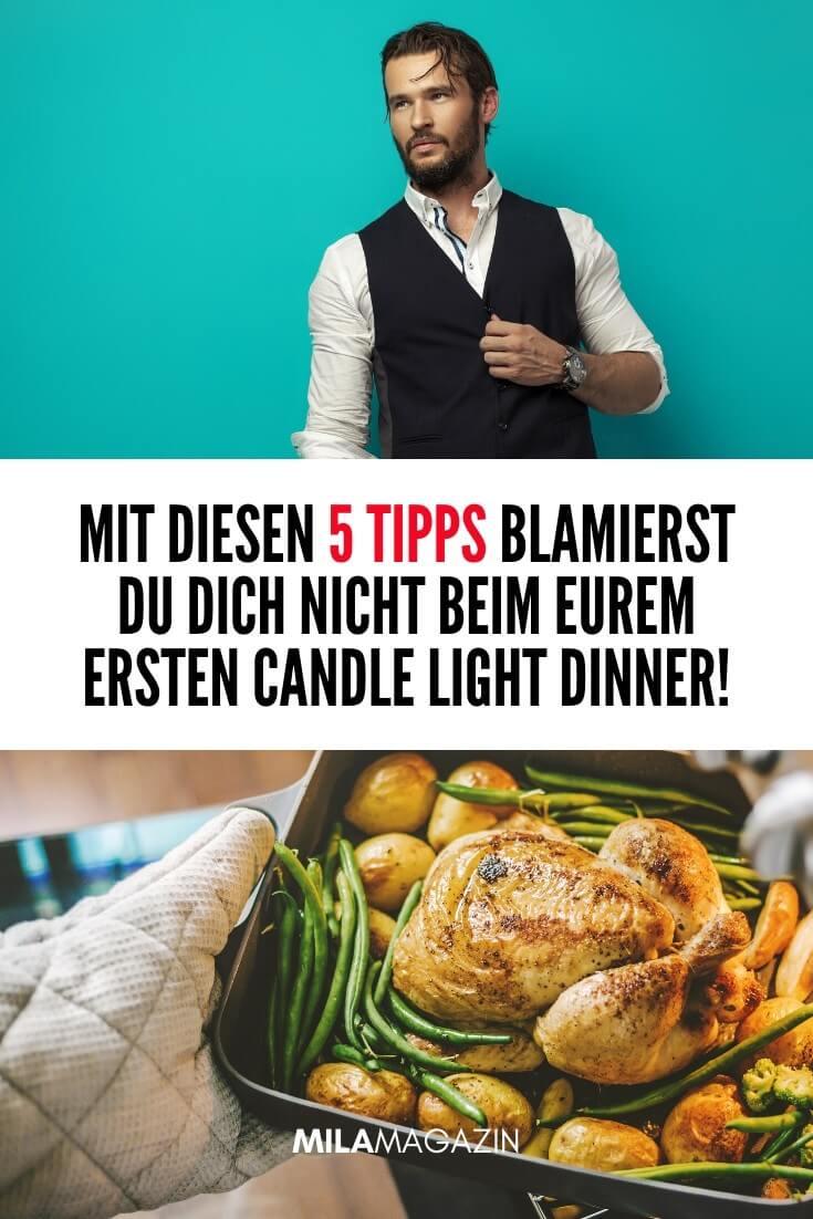 Was koche ich beim ersten Date? Mit diesen 5 Tipps blamierst du dich nicht beim Candle Light Dinner! | MILAMAGAZIN
