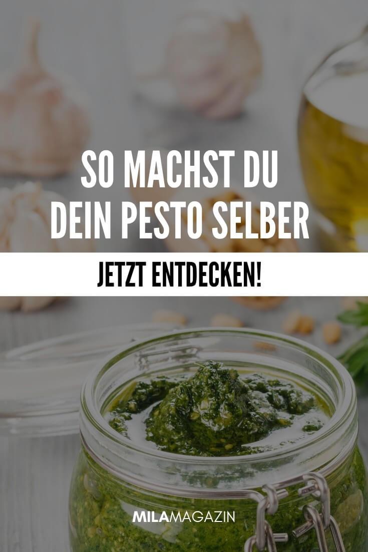 Pesto alla Genovese selber machen? So geht's schnell & einfach! | Rezept | MILAMAGAZIN