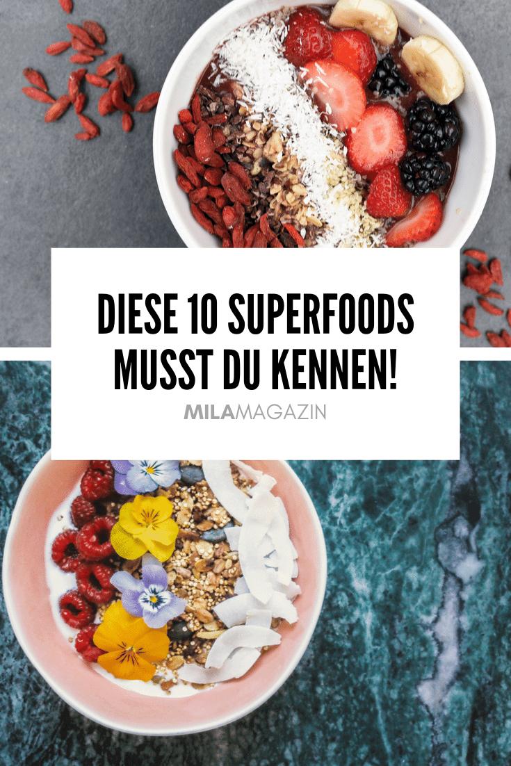 10 Superfoods, um dich stärker & gesünder zu fühlen | MILAMAGAZIN