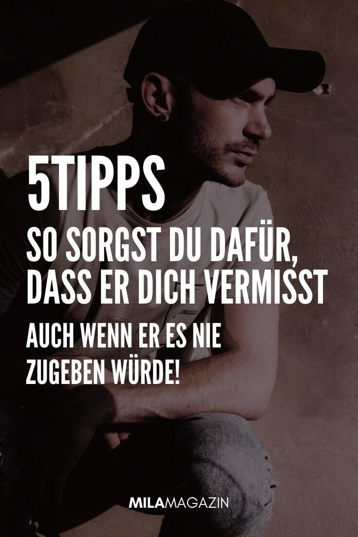 5 Tipps: So sorgst du dafür, dass er dich vermisst, auch wenn er es nie zugeben würde! | MILAMAGAZIN