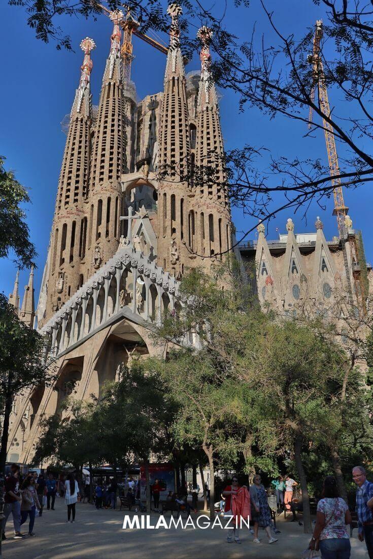 Kurztrip Barcelona – So holst du das meiste aus deinem 3-Tages-Wochendtrip! | La Sagrada Familia | MILAMAGAZIN