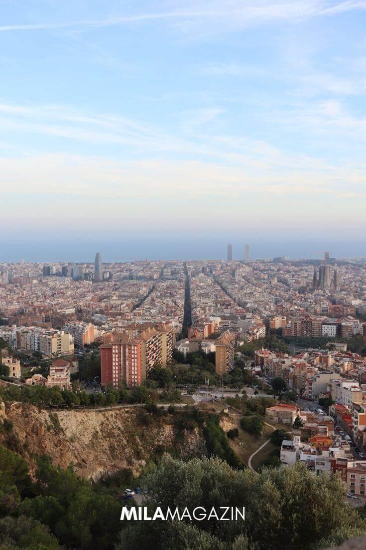 Kurztrip Barcelona – So holst du das meiste aus deinem 3-Tages-Wochendtrip! | Bunkers del Carmel | MILAMAGAZIN