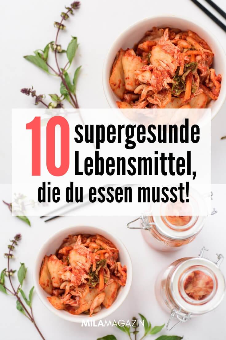 10 supergesunde fermentierte Lebensmittel, die du essen musst! | MILAMAGAZIN