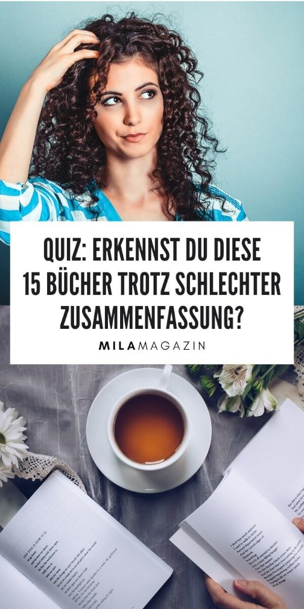 Quiz: Erkennst du diese Bücher trotz schlechter Zusammenfassung? | MILAMAGAZIN