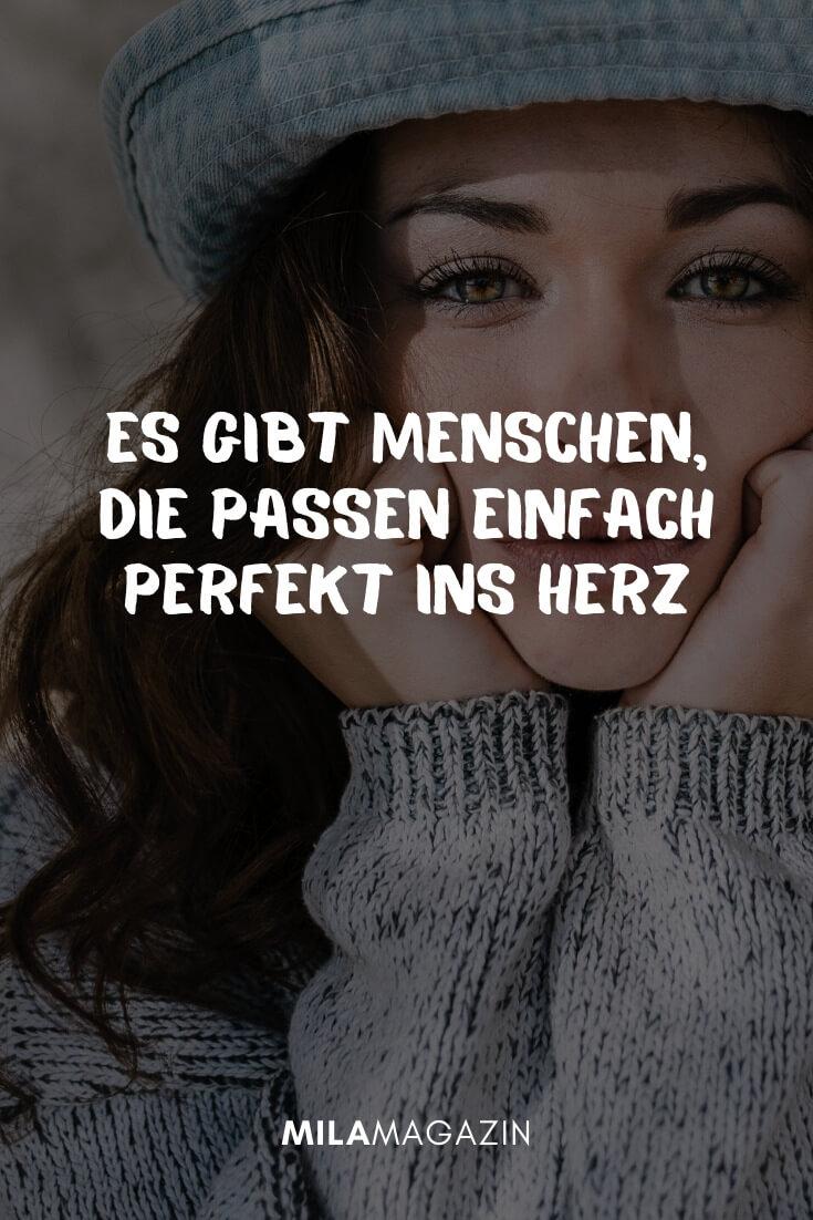 Es gibt Menschen, die passen einfach perfekt ins Herz! #lieblingsmensch | MILAMAGAZIN