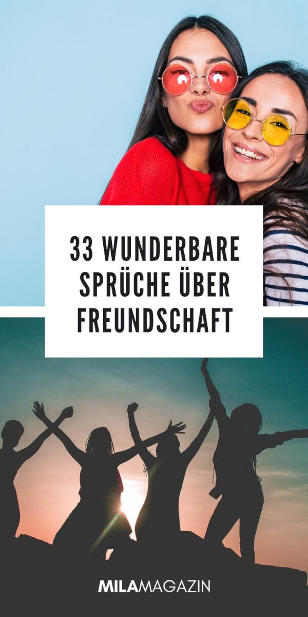 33 Wunderbare Sprüche über Freundschaft | MILAMAGAZIN