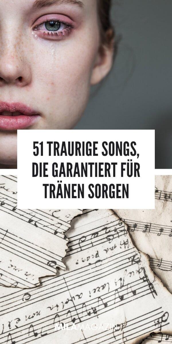 51 traurige Songs, die garantiert für Tränen sorgen | MILAMAGAZIN