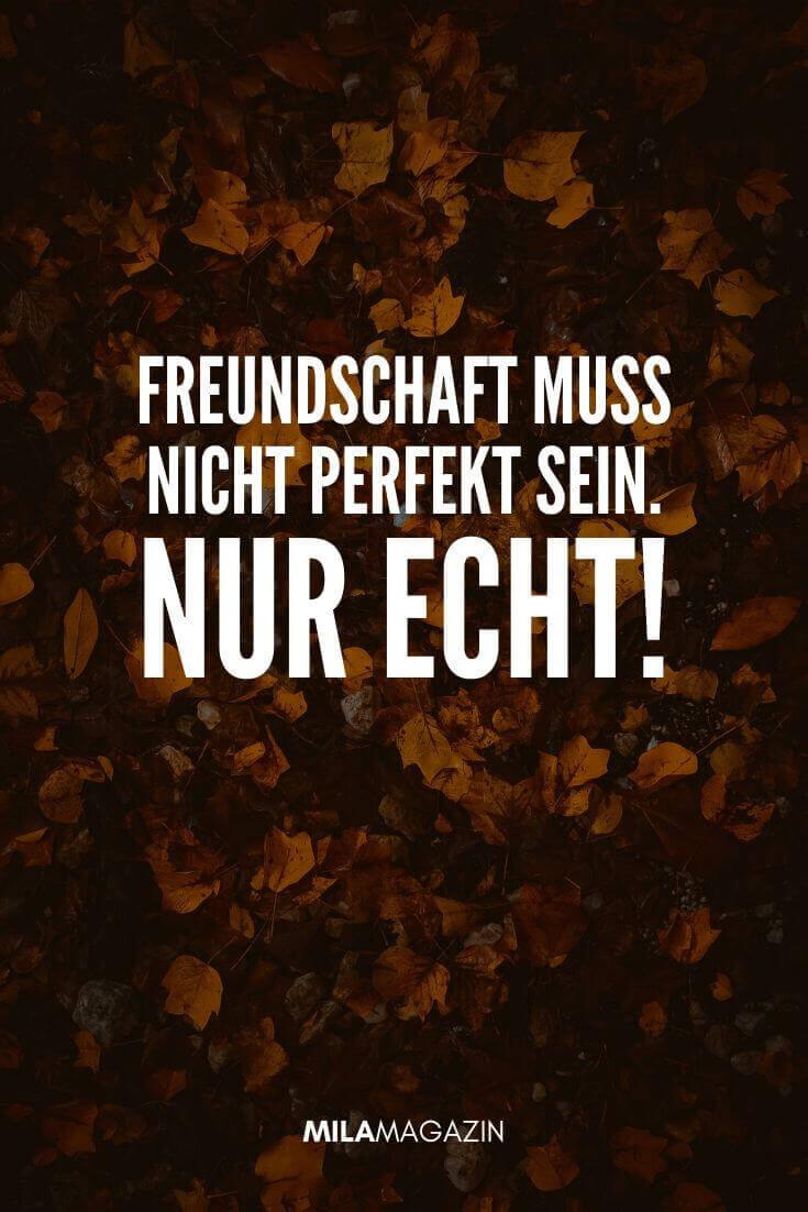 Freundschaft muss nicht perfekt sein. Nur echt! | MILAMAGAZIN