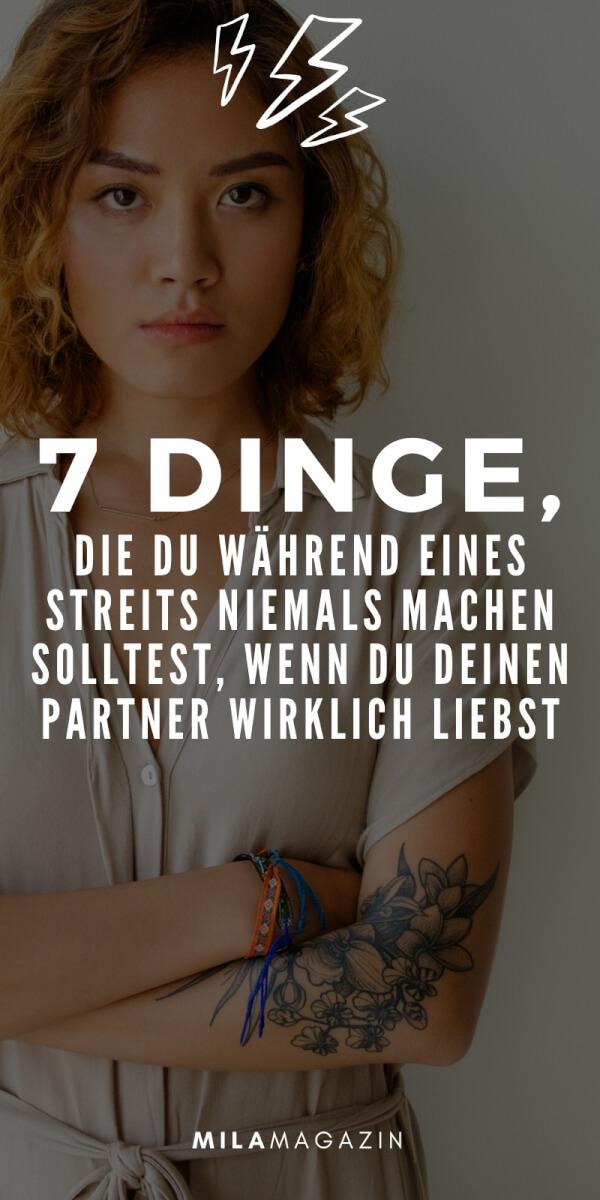 7 Dinge, die du während eines Streits in der Beziehung niemals tun solltest | MILAMAGAZIN