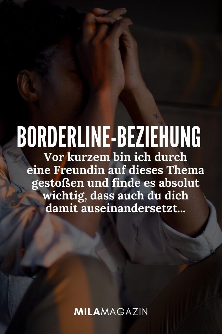 Borderline freundin hat schluss gemacht