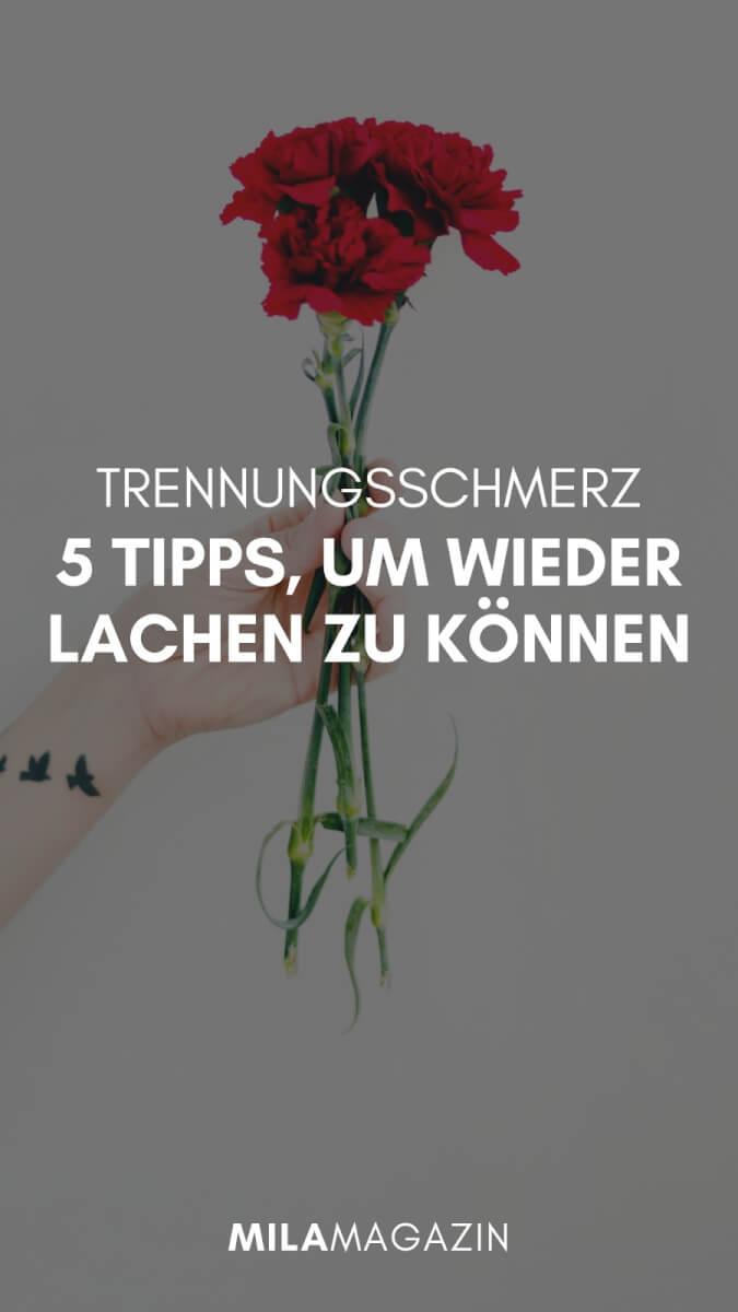 Trennungsschmerz: 5 Tipps wieder glücklich zu werden | MILAMAGAZIN