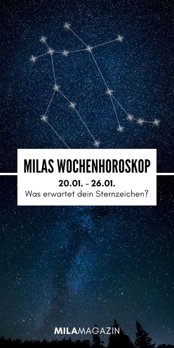 MILAs Wochenhoroskop 20.01. - 26.01. - Was erwartet dein Sternzeichen? | MILAMAGAZIN