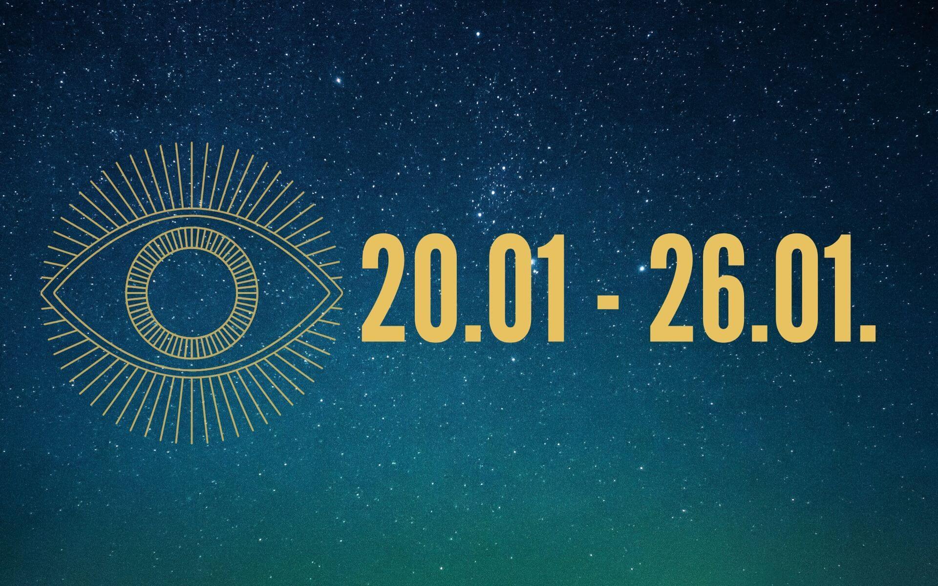 MILAs Liebeshoroskop 20.01. - 26.01. - Was erwartet dein Sternzeichen?